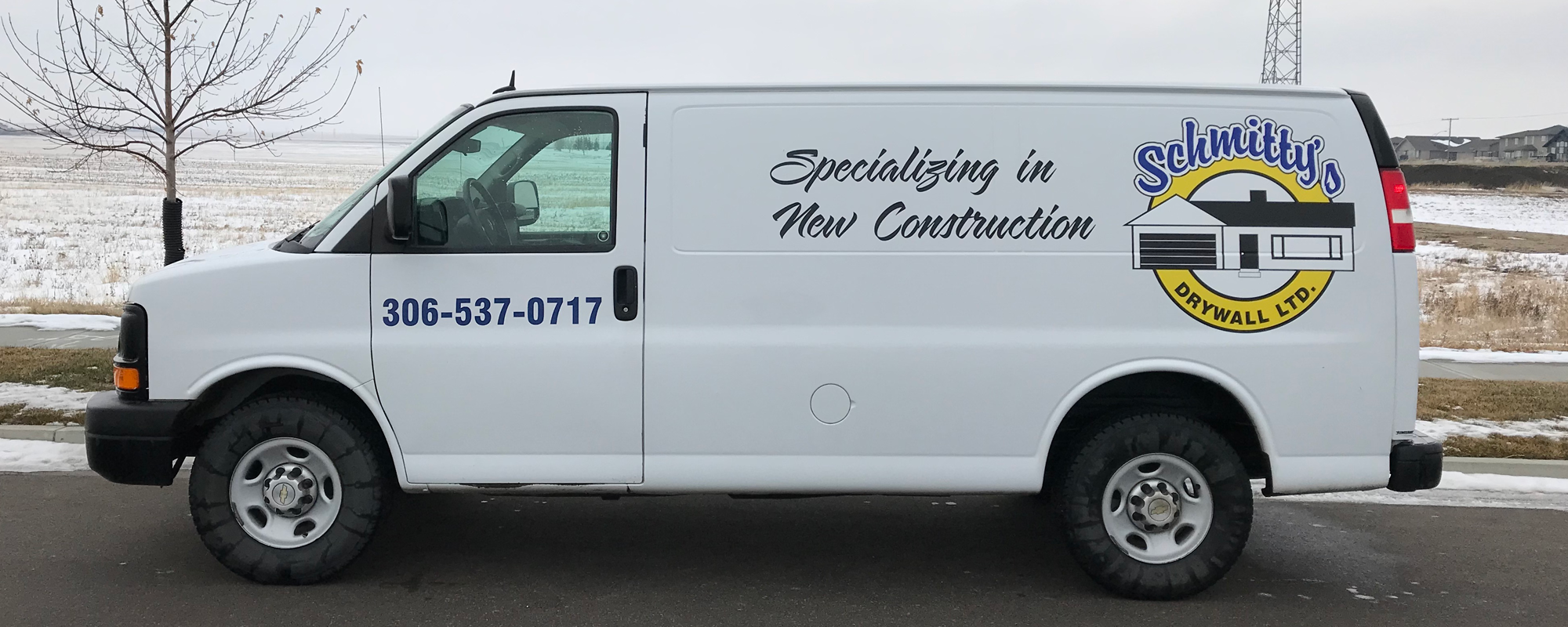 Schmitty's Drywall Ltd Van